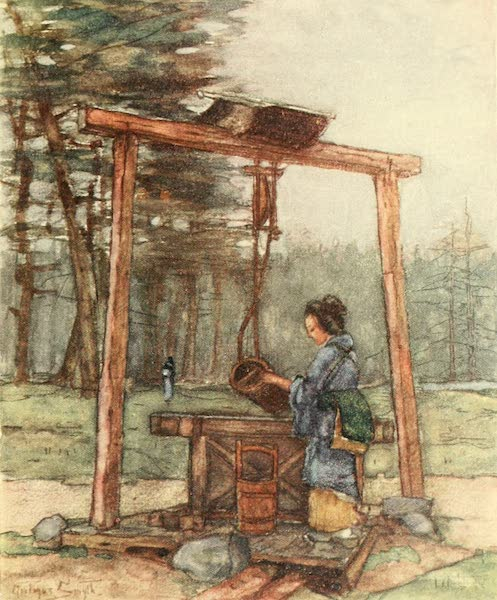 Old and New Japan - A Japanese Well (1907)