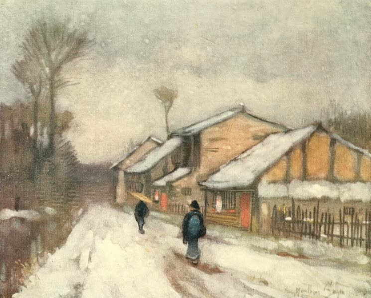 Old and New Japan - Winter in the Country (1907)