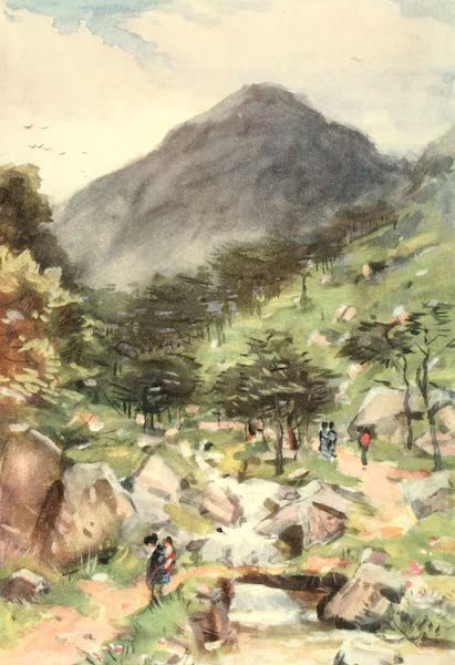 Old and New Japan - An exquisite Valley leading into the mysterious Hills (1907)