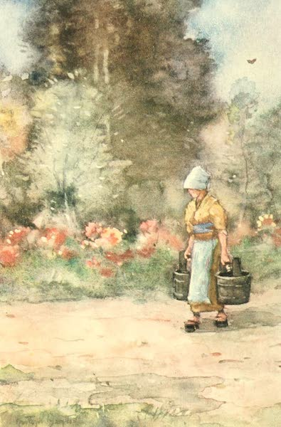 Old and New Japan - A Garden in which each Flower is carefully and lovingly tended (1907)