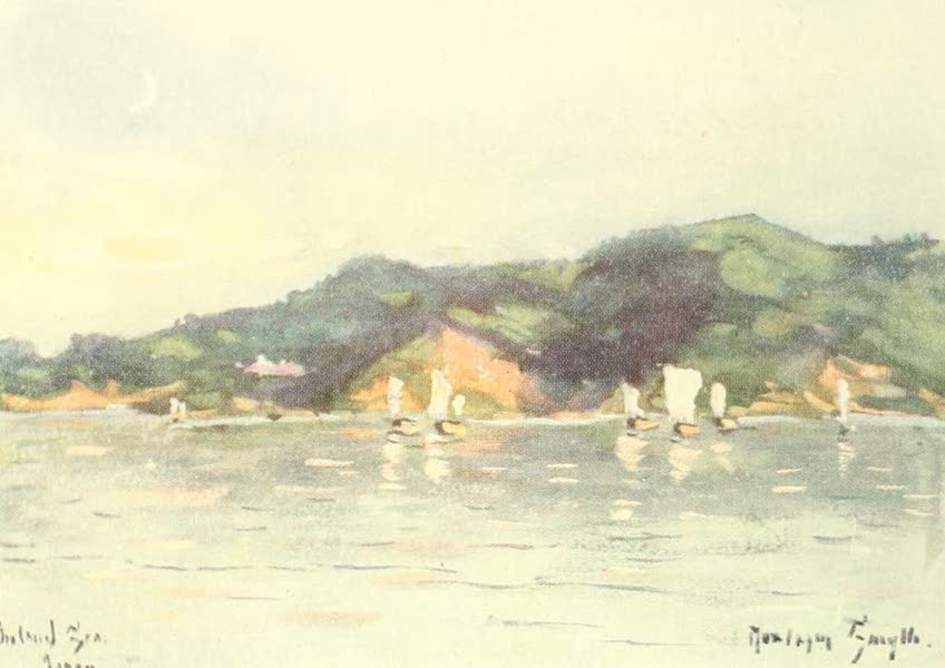Old and New Japan - A Japanese Fishing-feet in the Inland Sea (1907)