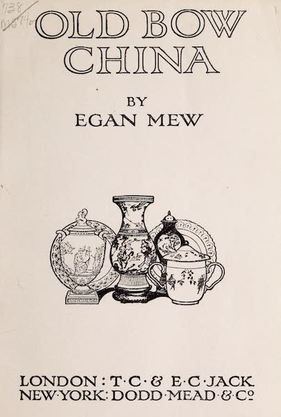 Old Bow China - Title Page (1909)