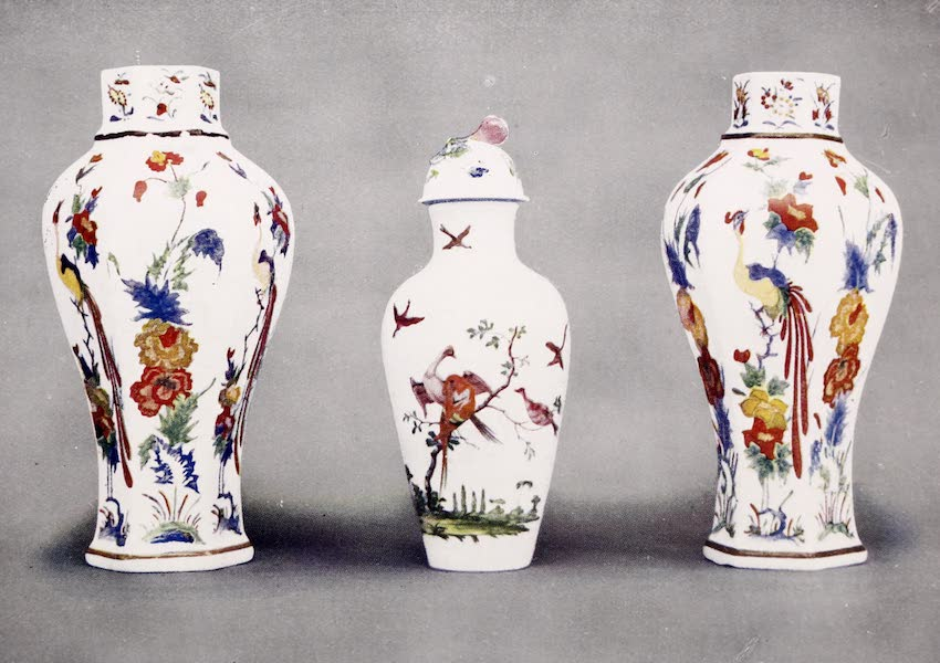 Old Bow China - Many Coloured Vases (1909)