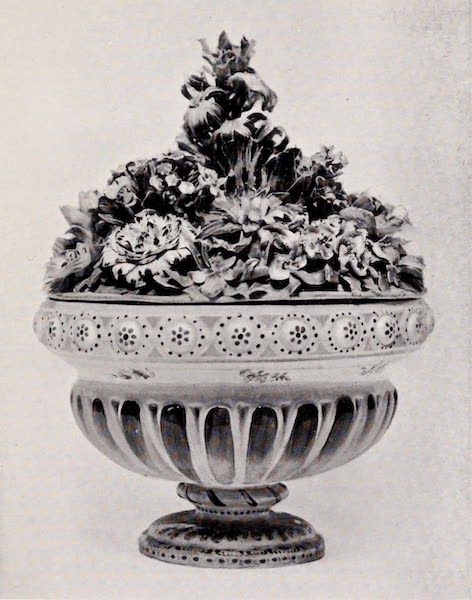 Old Bow China - Vase for Pot-Pourri (1909)