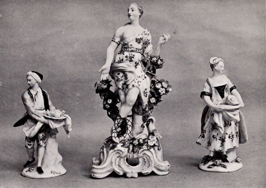 "Old Bow China - Bacon's ""Cooks"" and the ""Golden Lady"" (1909)"