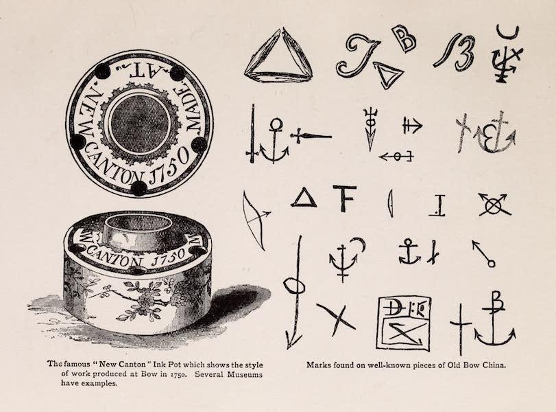 Old Bow China - Marks (1909)