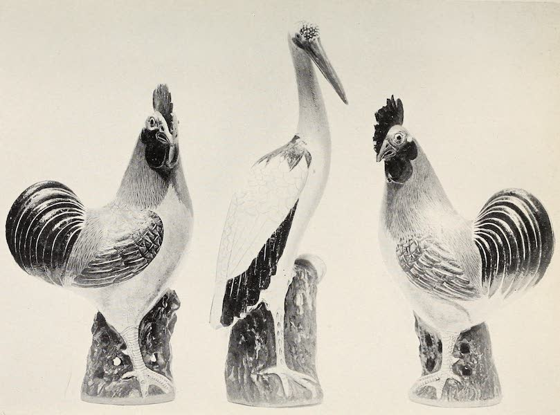 Old Chinese Porcelain - Kang-he Figures of Birds (1909)