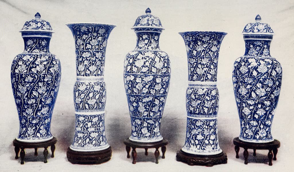 Old Chinese Porcelain - Blue-and-White Vases and Beakers (1909)