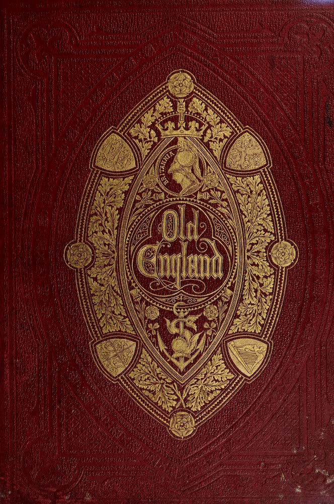 Old England Vol. 1 - Front Cover (1845)