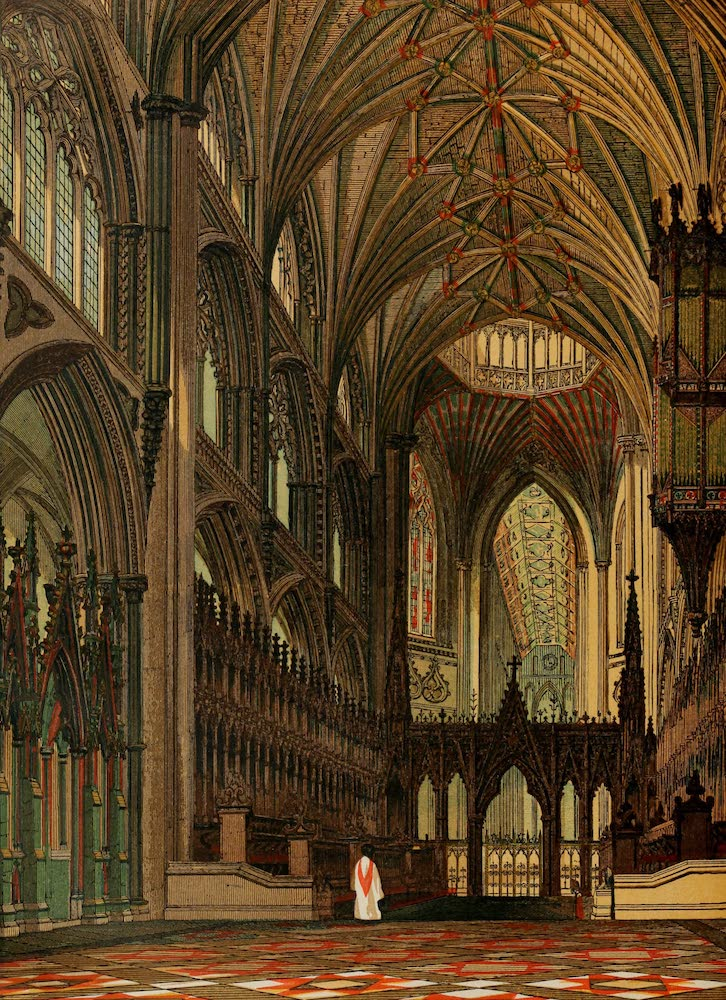 Old England Vol. 1 - Choir of Ely Cathedral (1845)