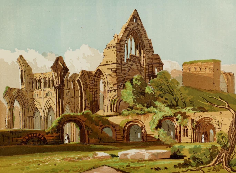 Old England Vol. 1 - Dryburgh Abbey (1845)