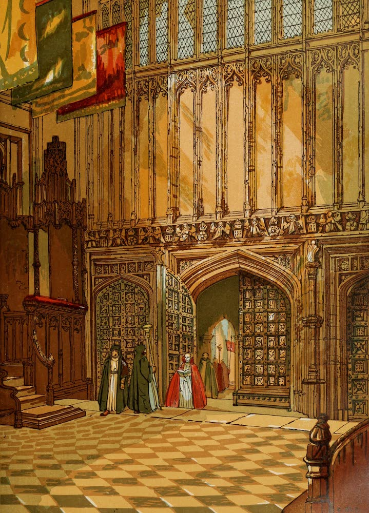 Old England Vol. 1 - Westminster Abbey Henry the Seventh's Chapel (1845)