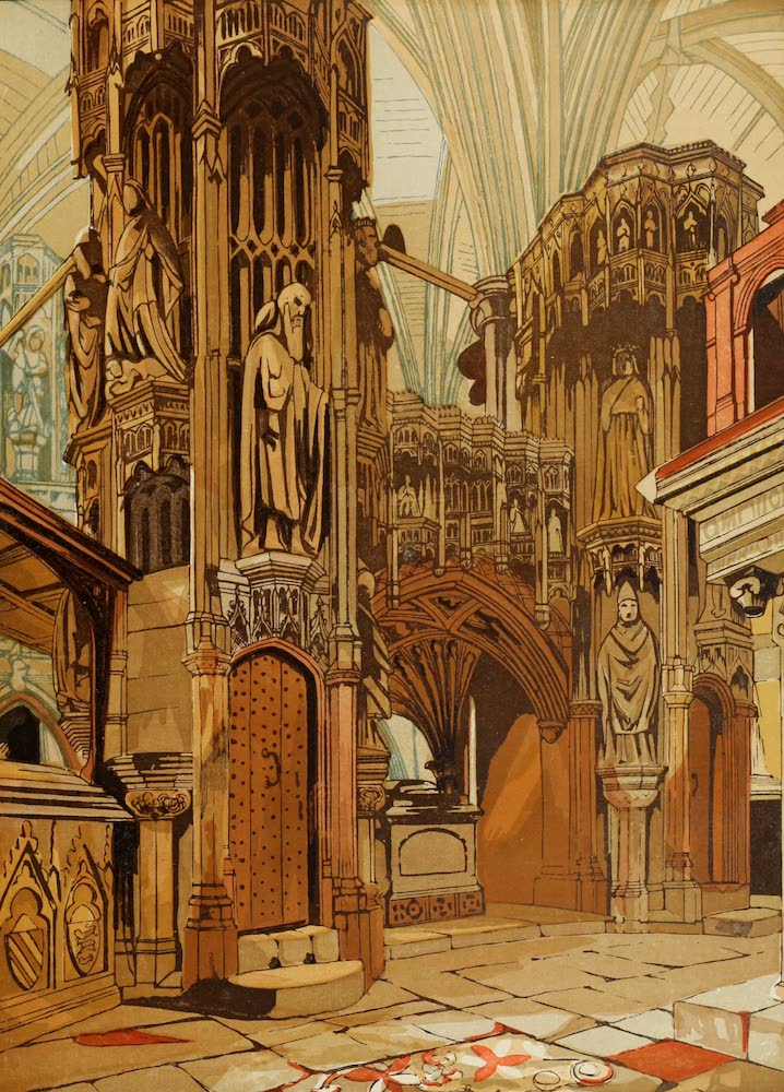 Old England Vol. 1 - Shrine of Henry the Fifth (1845)