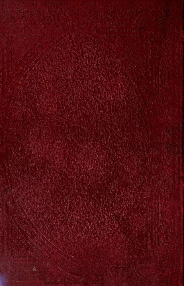 Old England Vol. 1 - Back Cover (1845)