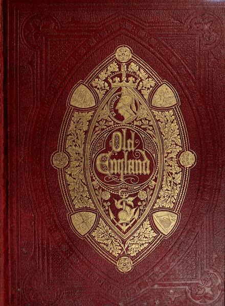 Old England Vol. 2 - Front Cover (1845)