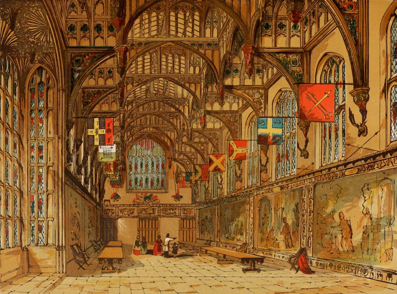 Old England Vol. 2 - Wolseys Hall, Hampton Court (1845)