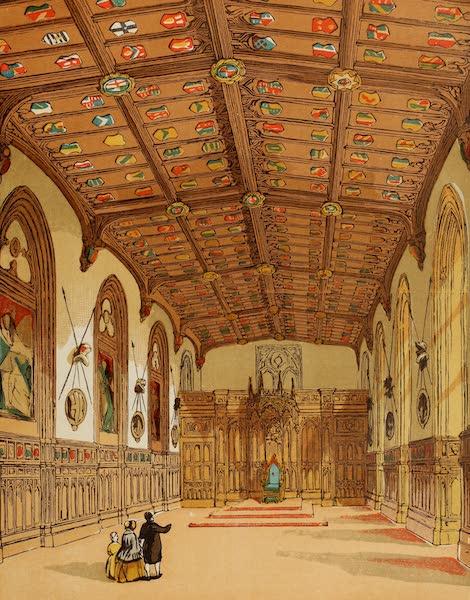 Old England Vol. 2 - St. George's Hall, Windsor (1845)