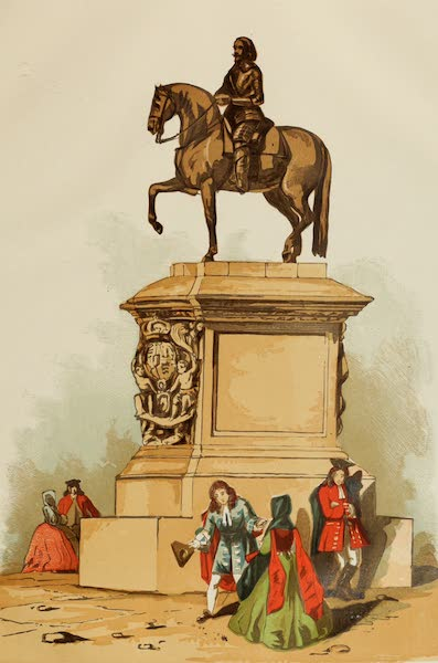 Old England Vol. 2 - Statue of Charles I at Charing Cross (1845)