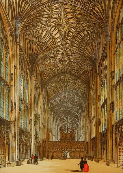 Old England Vol. 2 - Kings College Chapel, Cambridge (1845)