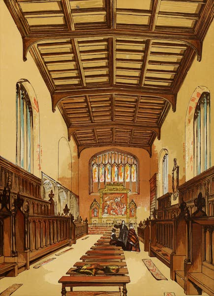 Old England Vol. 2 - St. Johns College Chapel, Cambridge (1845)