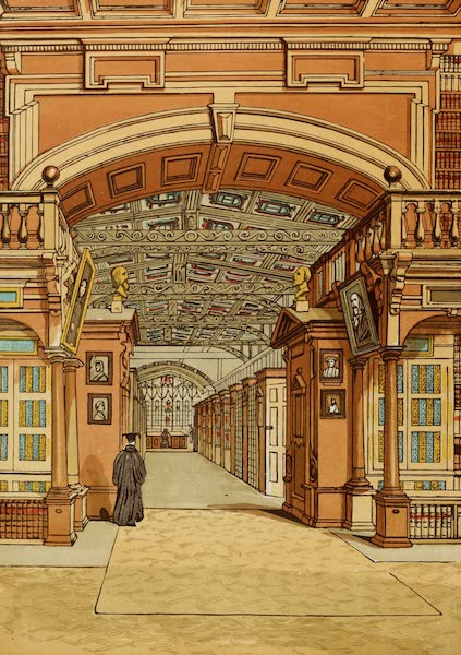 Old England Vol. 2 - The Bodleian Library, Oxford (1845)