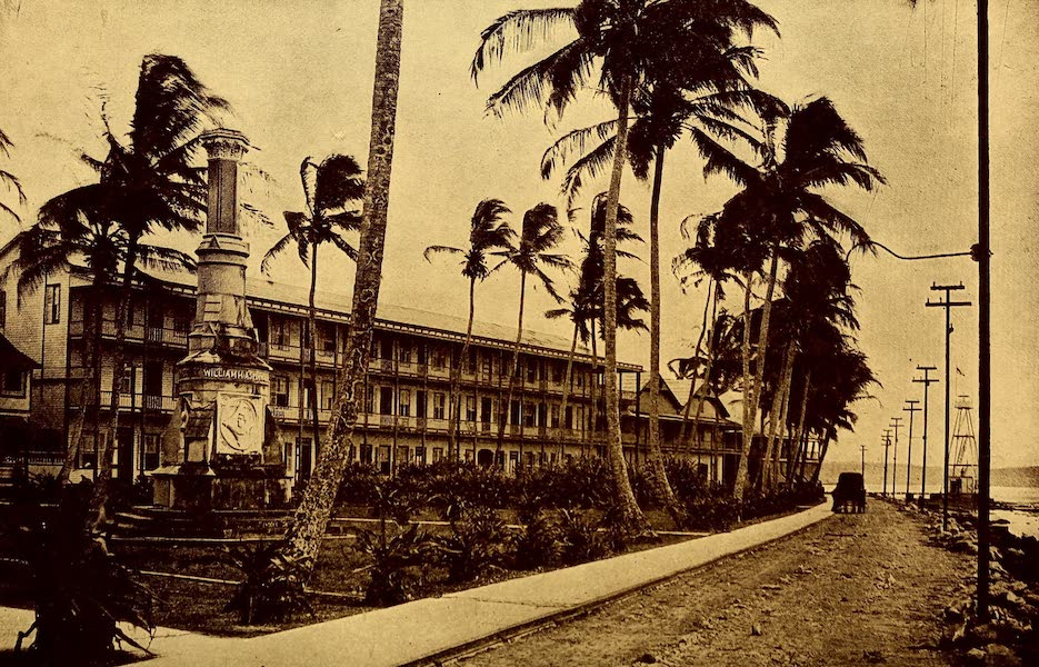 Old Panama and Castilla del Oro - Triangular monument and Washington House, Colon (1911)