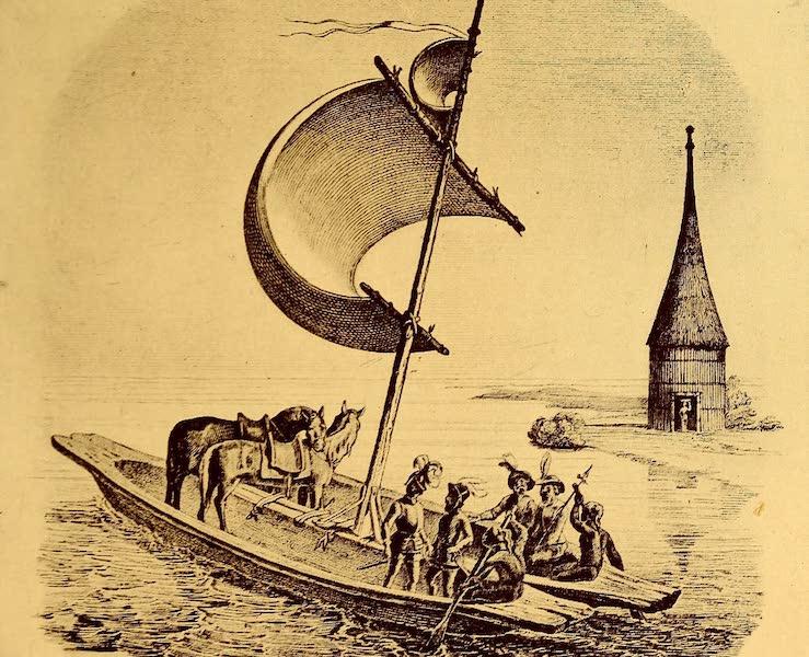 Old Panama and Castilla del Oro - Method of transporting horses (1911)