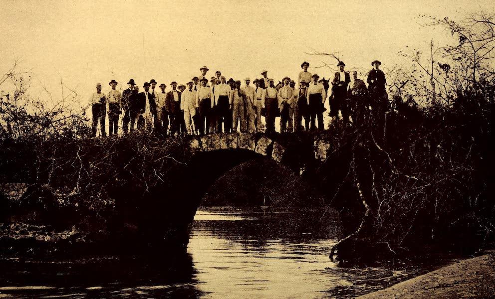 Old Panama and Castilla del Oro - Ancient stone bridge at Old Panama (1911)