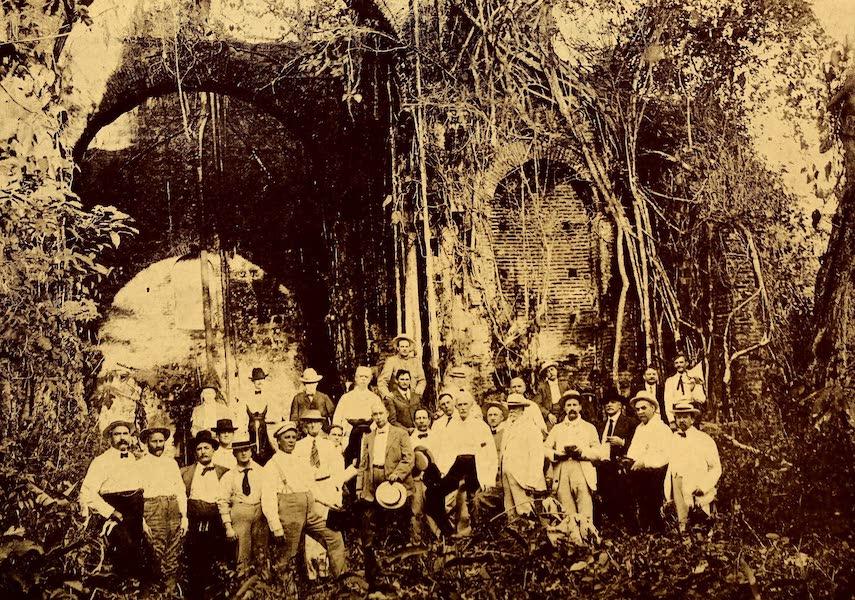 Old Panama and Castilla del Oro - Interior of ruined Church, Old Panama (1911)