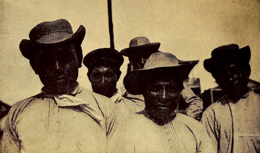Old Panama and Castilla del Oro - Group of Indians (1911)