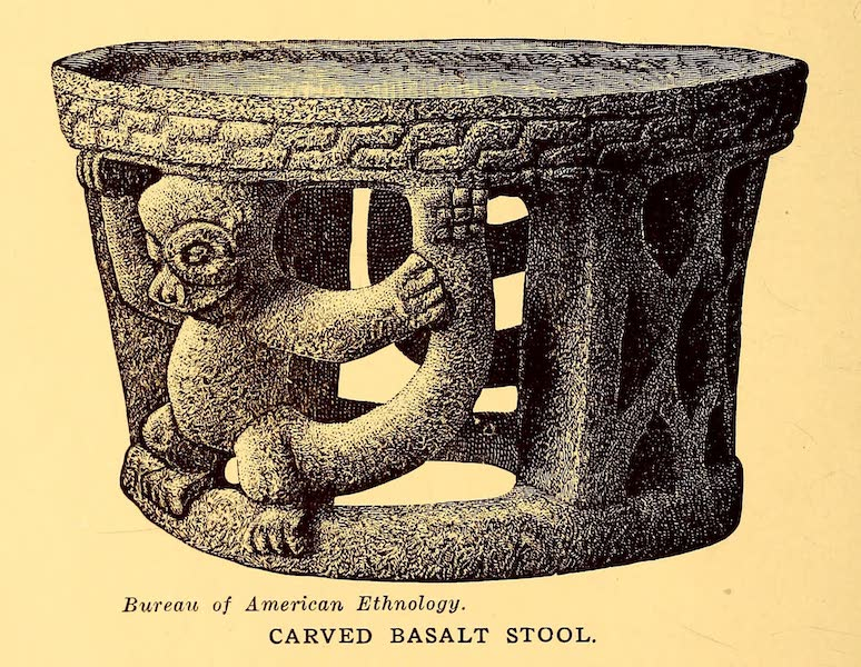Old Panama and Castilla del Oro - Basalt tool (1911)