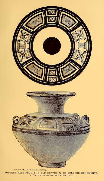 Old Panama and Castilla del Oro - Decorated vase from Indian graves (1911)