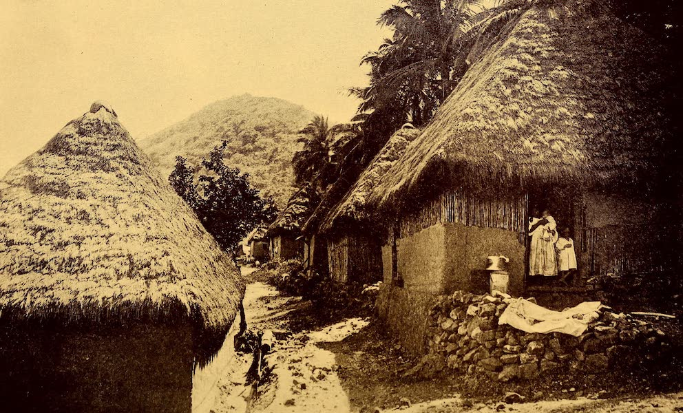 Old Panama and Castilla del Oro - Street in village of Taboga (1911)