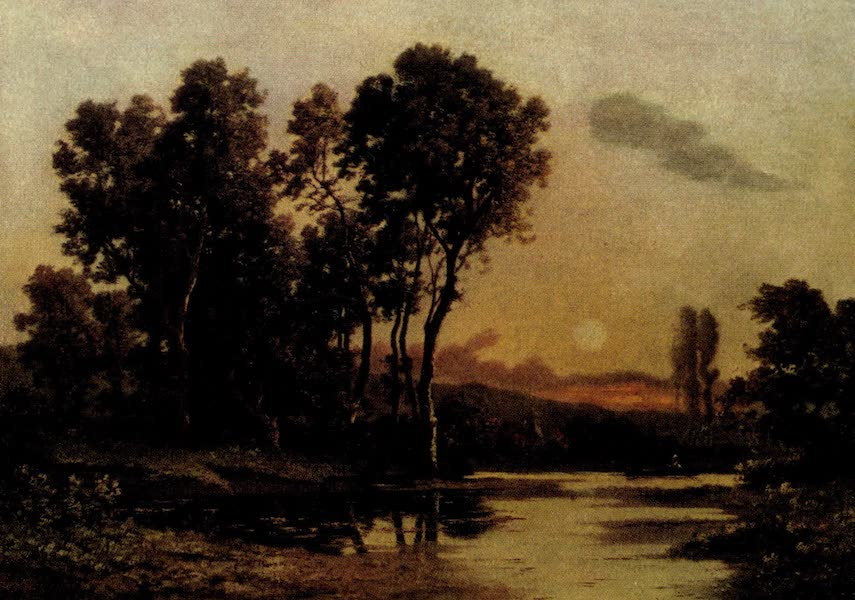 On Old-World Highways - Sunset in Touraine (1914)