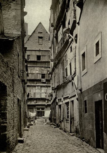 On Old-World Highways - A Street in St. Malo (1914)