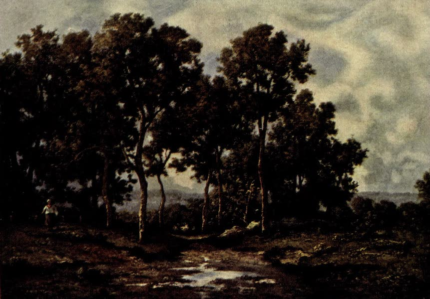 On Old-World Highways - Woods in Brittany (1914)