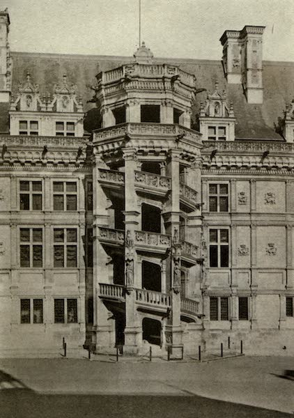 On Old-World Highways - Grand Stairway of Francis I. at Blois (1914)