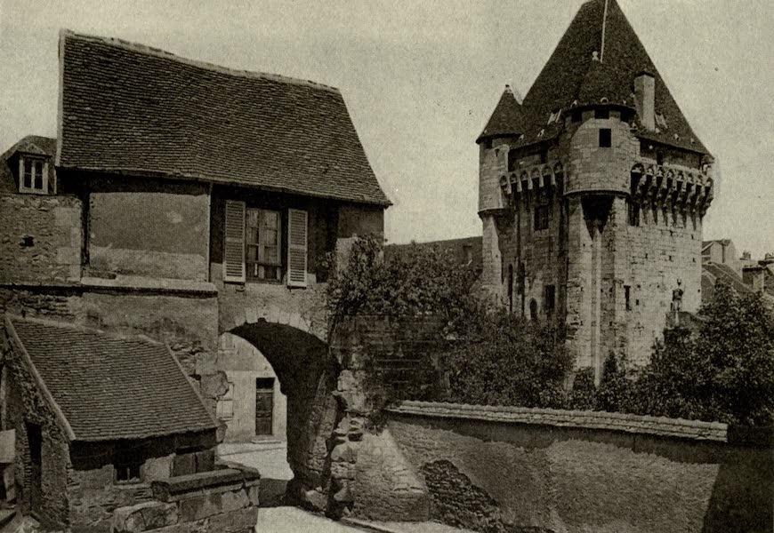 On Old-World Highways - Port Du Croux-a Medieval Watchtower at Nevers (1914)
