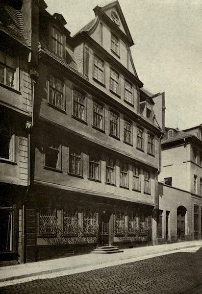 On Old-World Highways - Goethe's House-frankfort (1914)