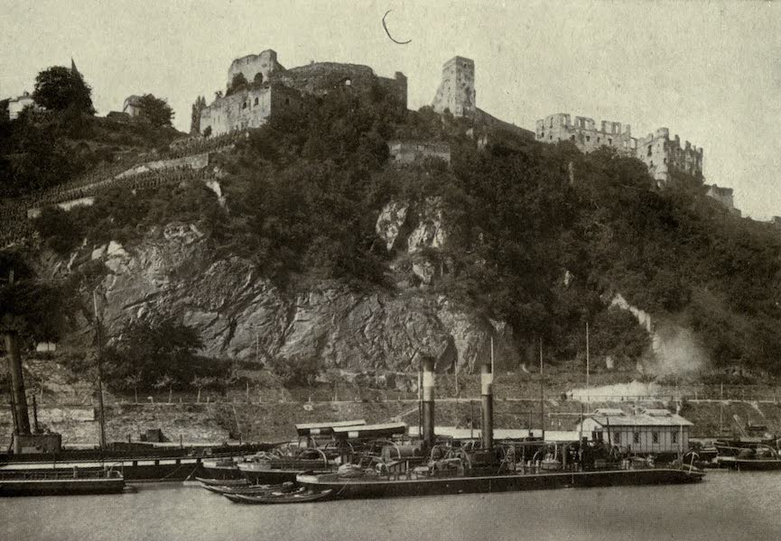 On Old-World Highways - Ruins of Castle Rheinfels (1914)