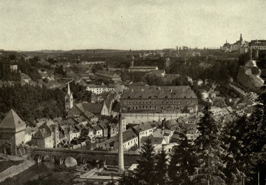 On Old-World Highways - Luxemburg-general View (1914)