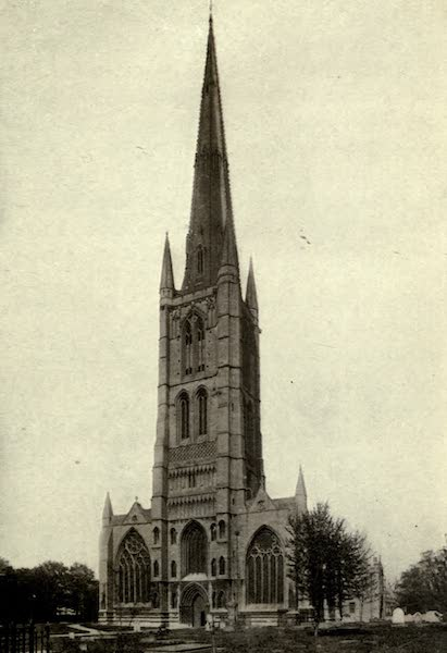 On Old-World Highways - St. Wulfram's Church-grantham (1914)