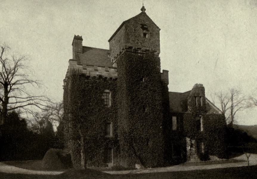 On Old-World Highways - Old Peel Tower at Darnick, near Abbotsford (1914)