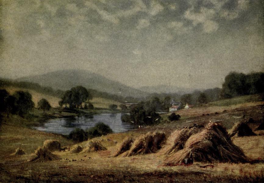 On Old-World Highways - Harvest Time, Strathtay (1914)