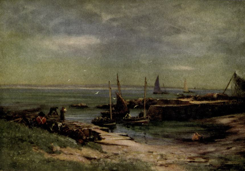 On Old-World Highways - Ackergill Harbour, Caithness (1914)