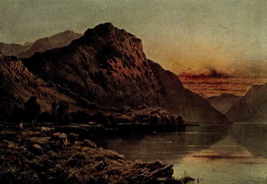 On Old-World Highways - The Great Glen, Sunset (1914)