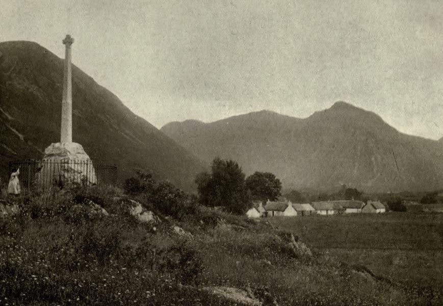 On Old-World Highways - The Macdonald Monument, Glencoe (1914)
