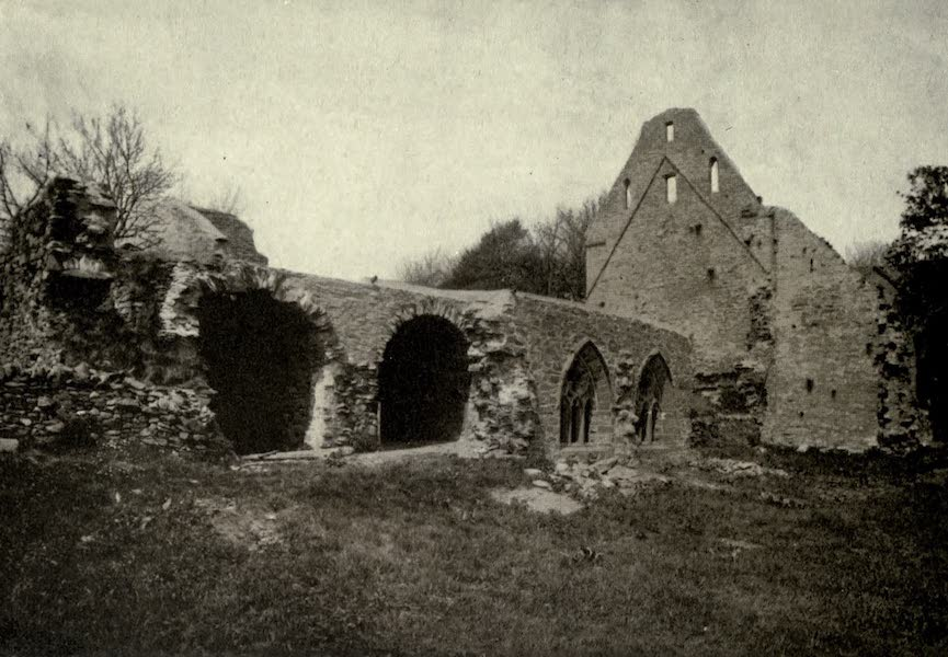 On Old-World Highways - Glenluce Abbey (1914)