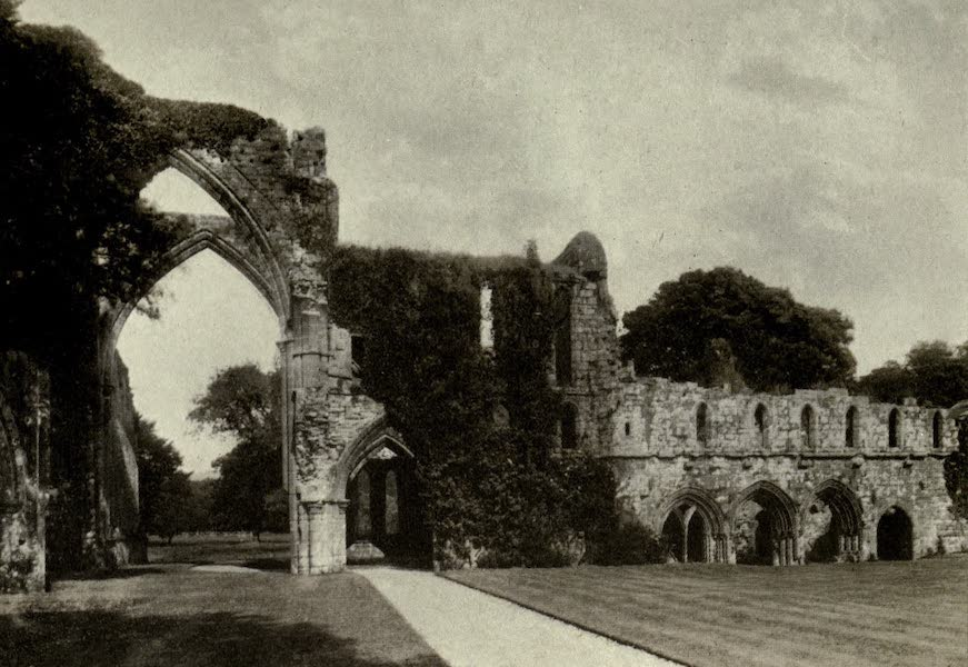 On Old-World Highways - Calder Abbey, Cumberland (1914)