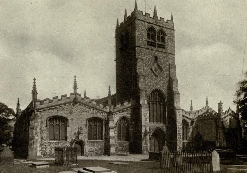 On Old-World Highways - Kendal Parish Church (1914)